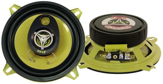 "Pyle Gear 5.25"" 13cm 130mm 280w Car Door Shelf Two Way Coaxial Speakers Pair"