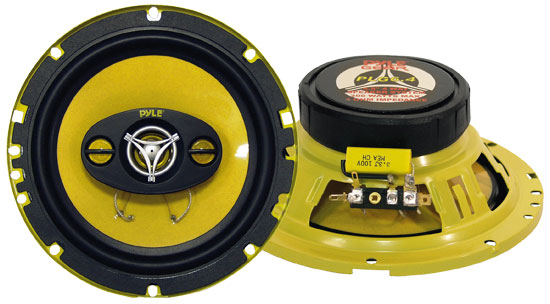 Pyle PLG6.4 6.5'' 300 Watt Four-Way Speakers