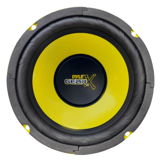 "Pyle 6.5"" Inch 300w Mid Bass Driver Car Speaker Subwoofer Sub Woofer Single"