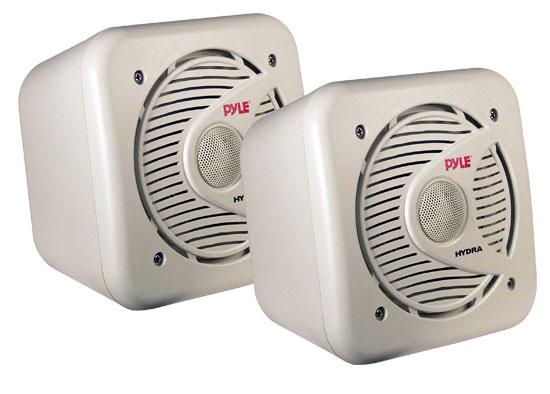 Pyle PLMR53 5.25'' 150 Watt Two-Way Shielded Marine Water Proof Speakers