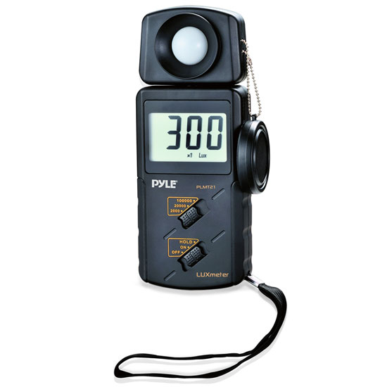 Pyle PLMT21 Handheld Lux Light Meter Photometer with 20000 Lux Range Per Second