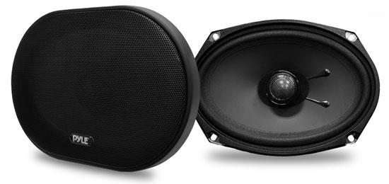 Pyle PLSL6902 6''x 9'' 240 Watt Slim Mount Two-Way Coaxial Speakers