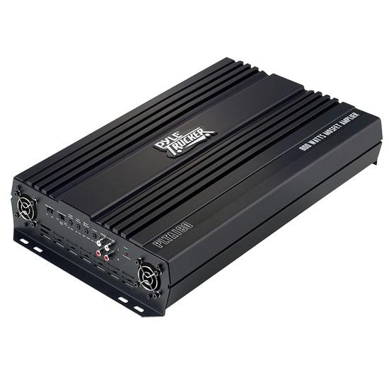 Pyle 24v Truck 2 Ch Two Channel 800w Black Bridgeable Car Speaker Amplifier Amp