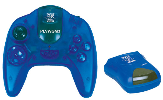 Pyle PLVWGM3 Wireless 50 Game Mobile Video Gaming System