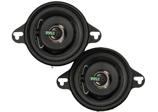 Pyle PLX32 3.5'' 100 Watt Two-Way Speakers