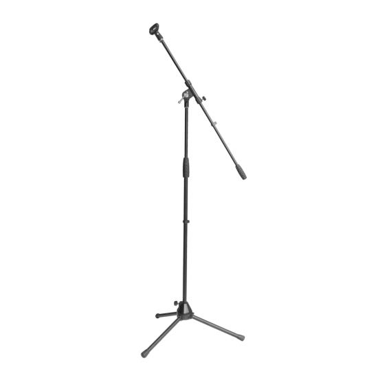 Pyle-Pro PMKS2 Tripod Microphone Mic Stand With Boom Heavy Duty Adjustable