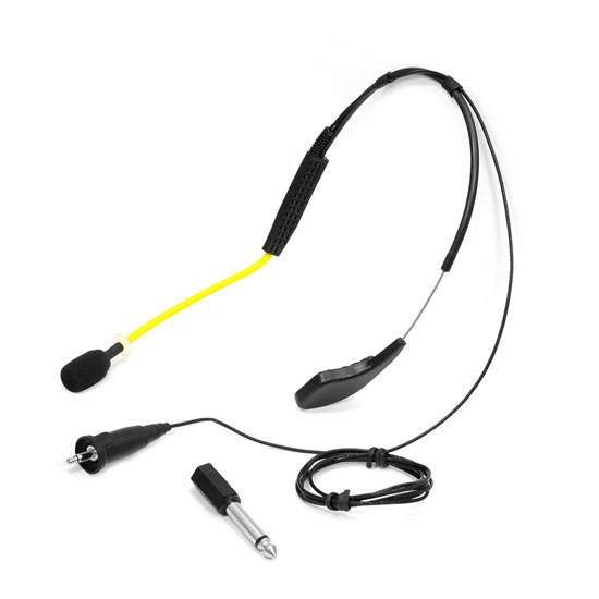 PyleSports Flexible Waterproof Headset Microphone for Exercise/Fitness PMKWR4