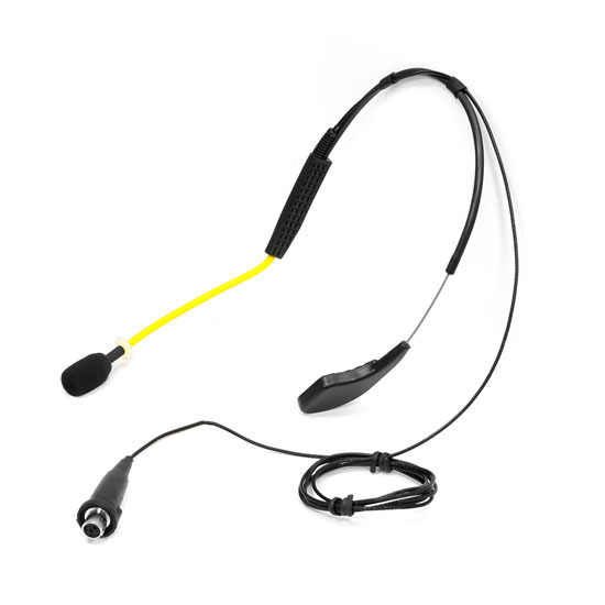 Pyle PMKWS3 Flexible Waterproof headset for Exercise/Fitness Shure Connector