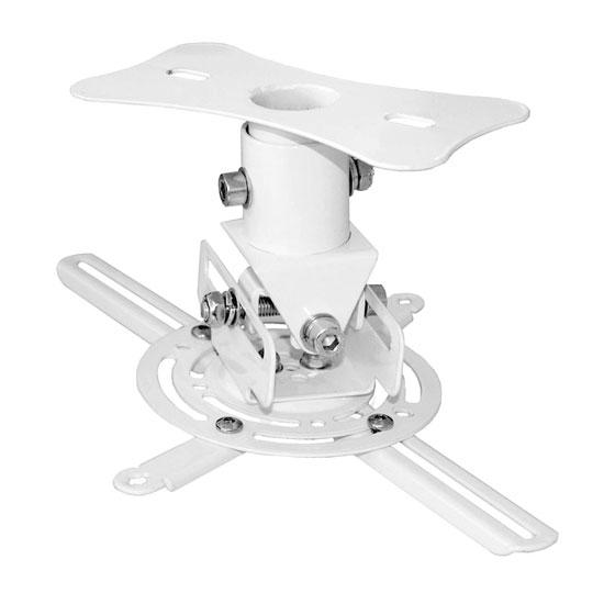 PyleHome PRJCM6 Universal Projector Ceiling Mount Bracket with Rotation & Tilt