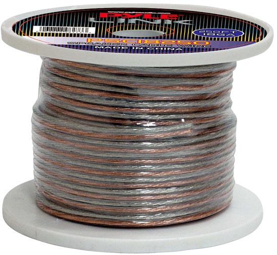 Pyle PSC18250 18 Gauge 250 ft. Spool of High Quality Speaker Zip Wire