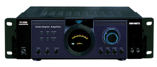 Pyle-Home PT3300 3000 Watt Power Amplifier