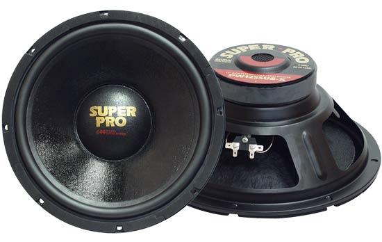 "Pyramid Pro 8 Ohm 8"" 20cm 200mm 350w Mid Bass Driver Car Door Shelf Sub Speaker"