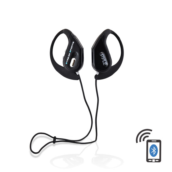 PWBH18BK Waterproof Bluetooth Swimming Wireless Earphones Built-in Mic Handsfree
