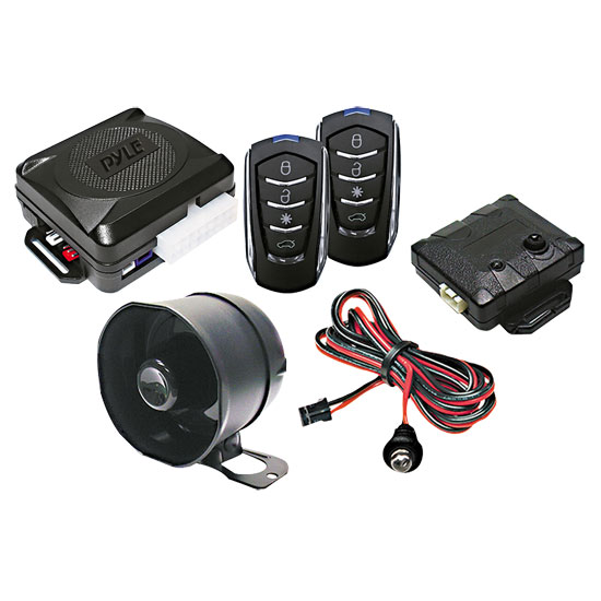 Pyle PWD701 4-Button Car Remote Door Lock Vehicle Security System