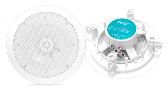 Pyle-Home PWRC51 5.25'' 2-Way In ceiling Stereo Speaker Weather Proof