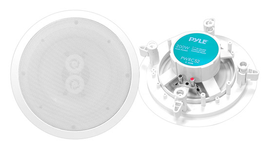 "Pyle-Home PWRC52 Pyle 5.25"" Ceiling Water Proof Speaker"