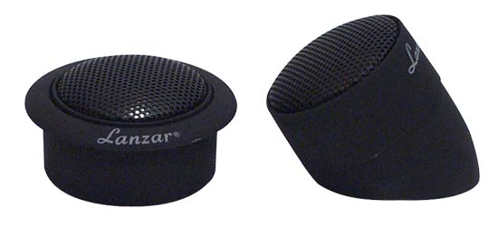 Lanzar TWS 1 inch Titanium Dome Neodymium Flush, Surface or Angle Mount Tweeter