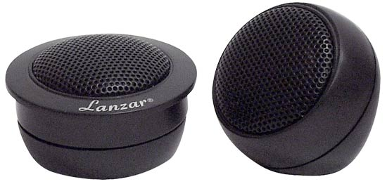"Lanzar VST 0.5"" Neodymium Flush, Surface or Angle Mount Tweeters"