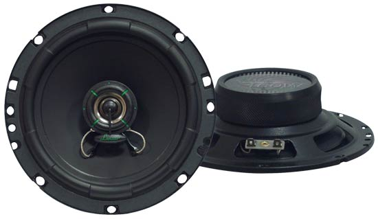 Lanzar VX610 VX Super Slim 6.5'' Two-Way Speakers