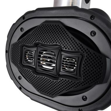 "Lanzar WaterProof Monster 300w Marine Black Boat Wakeboard Tower Speaker 6x9"" Thumbnail 3"