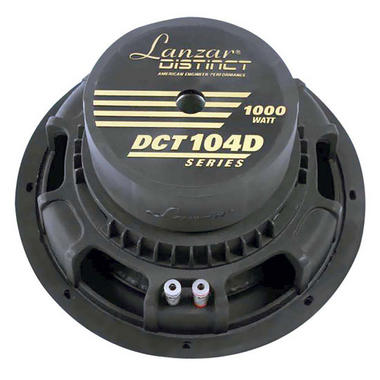 "Lanzar Distinct DVC 4 Ohm 10"" 1000w SPL SQ Car Subwoofer Sub Woofer Bass Driver Thumbnail 2"