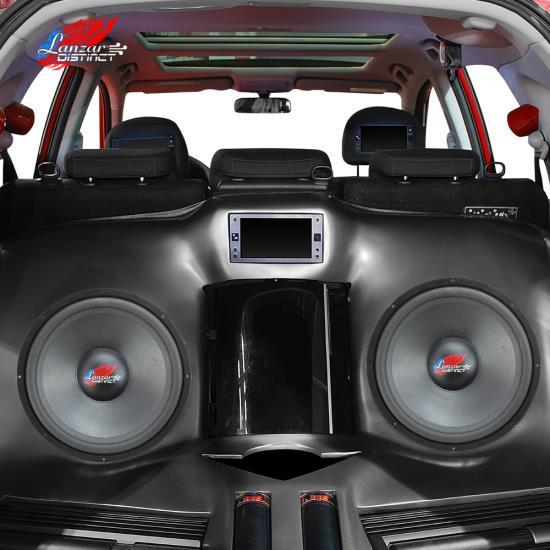 Lanzar DCTOA8D Distinct Open Air DVC Distinct Series 8-Inch High Power IB Open Free-Air 4 Ohm Subwoofer DVC Thumbnail 5