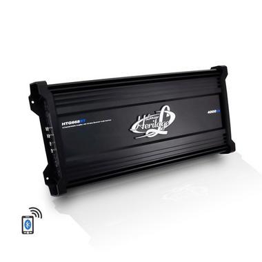 Lanzar HTG668BT Heritage Series 4000 Watt 6-Channel Mosfet Amplifier with Wireless Bluetooth Audio Interface Thumbnail 1