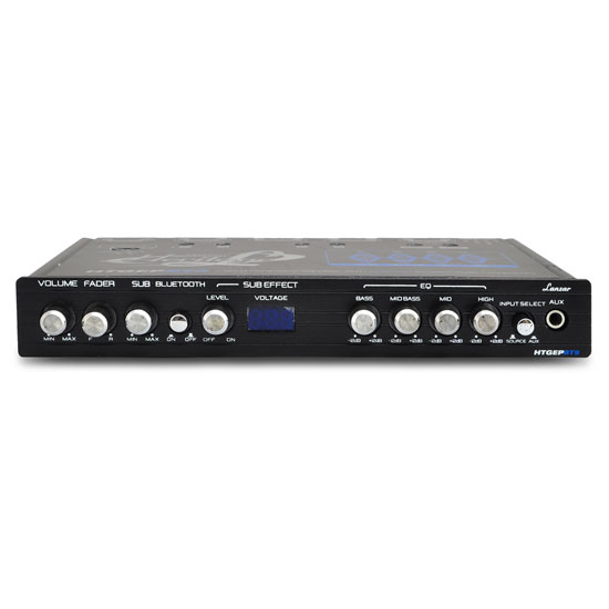 Lanzar HTGEPBT9 Heritage Series 4-Band EQ Parametric Equalizer with Bluetooth Thumbnail 3