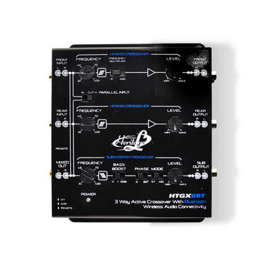 Lanzar HTGX6BT Heritage Series 3-Way Active Crossover X-Over 12v with Bluetooth Thumbnail 4