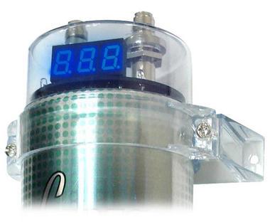 Lanzar LQ19CAP 1.9 Farad Car Audio Amp Amplifier Power Cap PowerCap Capacitor Thumbnail 3