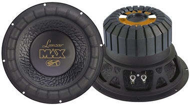 "Lanzar MAX12 4 Ohm 12"" 1000w SPL SQ Car Subwoofer Sub Woofer Bass Driver Thumbnail 1"