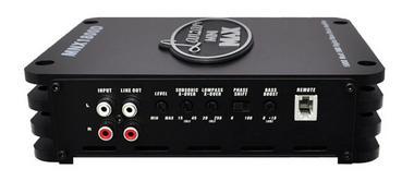Lanzar MNX Compact 1800w MonoBlock Car Subwoofer Power Amplifier Mono Sub Amp Thumbnail 2