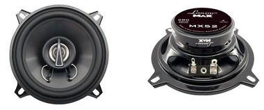 "Lanzar MAX 5.25"" 13cm 130mm 140w Coaxial Two Way Pair Car Door Shelf Speakers Thumbnail 1"