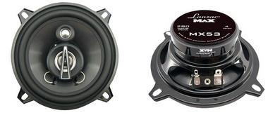 "Lanzar MAX 5.25"" 13cm 130mm 140w Coaxial Three Way Pair Car Door Shelf Speakers Thumbnail 1"