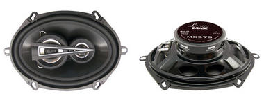 "Lanzar Max 5x7"" Coaxial 3 Way Pair Of Car Door Shelf Speakers 880w Ford Mazda Thumbnail 1"