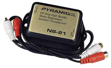 Pyramid NS21 20 Amp In-Line Noise Suppressor Ground Loop Isolator Destroyer Thumbnail 1