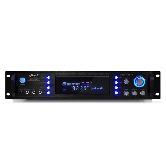 Pyle P3002AI Pyle Pro 3000w Hybrid Hi-Fi Stereo Receiver Amp Amplifier iPod Dock Thumbnail 2