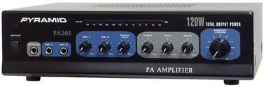 Pyramid PA205 Hi-fi Stereo Amp Amplifier With 2 Microphone Mic Inputs AUX in Thumbnail 1