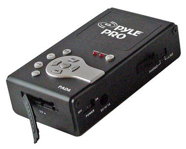 Pyle PAD6 USB Audio Interface & Analog Sound Recording Recorder SD Portable Thumbnail 3