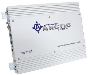 Pyramid Arctic 2 Ch Two Channel 1600w Bridgeable Car Speaker Amplifier Amp Thumbnail 1