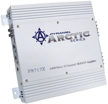 Pyramid Arctic 2 Ch Two Channel 1000w Bridgeable Car Speaker Amplifier Amp Thumbnail 1