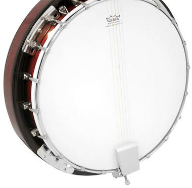 Pyle PBJ60 5 String Banjo w/ Chrome Plated Hardware Rosewood & Mohogany Thumbnail 2