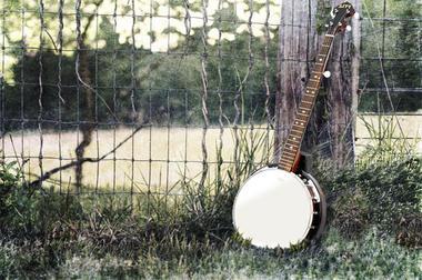 Pyle PBJ60 5 String Banjo w/ Chrome Plated Hardware Rosewood & Mohogany Thumbnail 5