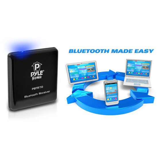 Pyle PBTR70 Bluetooth A2DP Audio Adapter Receiver 30-Pin Apple Connector Dock Thumbnail 5