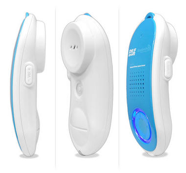 Pyle PBTWP24WT Surf Sound 2-in-1 WaterProof Bluetooth Wireless Speaker Handset Thumbnail 2