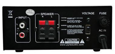 Pyle PCAU25A 2 x 40 Watt Stereo Power Amplifier USB/SD AUX Player & Remote Thumbnail 3