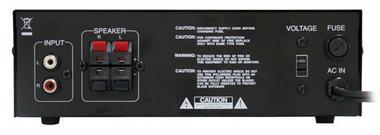 Pyle Pro Home DJ IPOD IPHONE Stereo Hifi Party Mini USB Amplifier Amp System Thumbnail 2