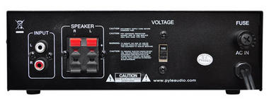 Pyle PCAU46A 2 x 120 Watt Stereo Mini Power Amplifier USB/SD AUX Player & Remote Thumbnail 3
