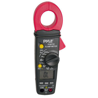 Pyle-Meters PCMT20 Digital AC DC Auto-Ranging Clamp Meter Multimeter Thumbnail 1
