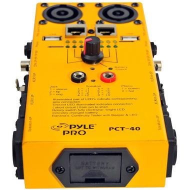 Pyle-Pro PCT40 12 Plug Pro Audio Cable Tester Thumbnail 2
